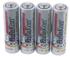 Batterien, klein, -AA-Size-, 4-er Pack