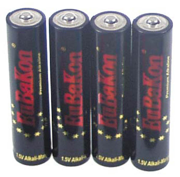 Batterien, klein, -AAA-Size-, 4-er Pack