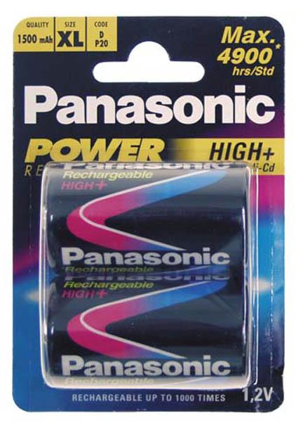 Wiederaufladbare Batterie, Mono, 1,5 V