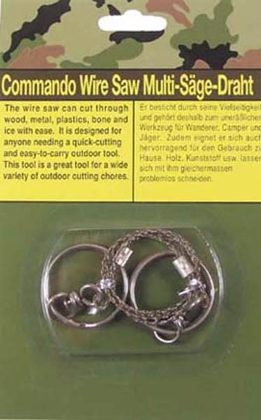 Draht-Säge mit Ringen