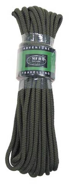 Seil oliv, 7 mm, 15 Meter (50')