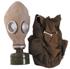 NVA Schutzmaske, mit Filter u. Tasche