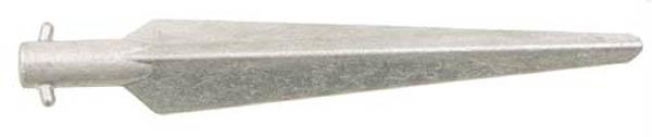 Zelthering, gebr., 29 cm