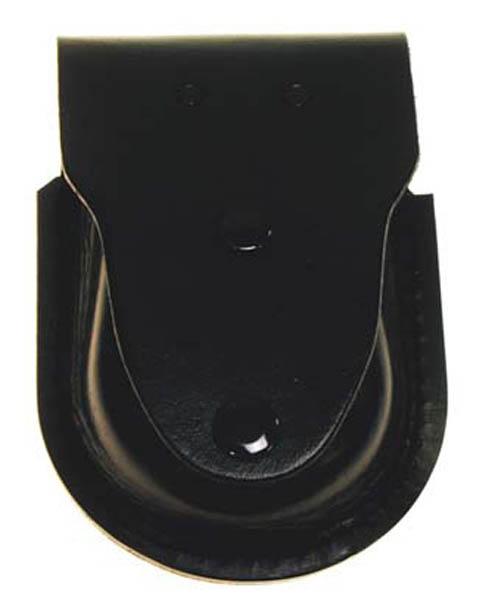 Handschellenetui, Leder, schwarz, extra