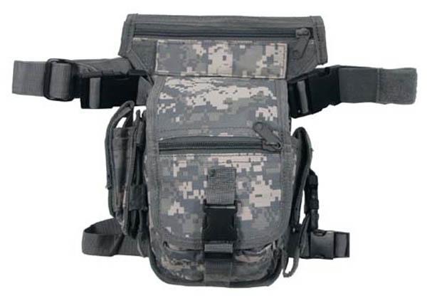 Hip Bag, SECURITY AT tarn, Bein- und Gürtelbefestigung