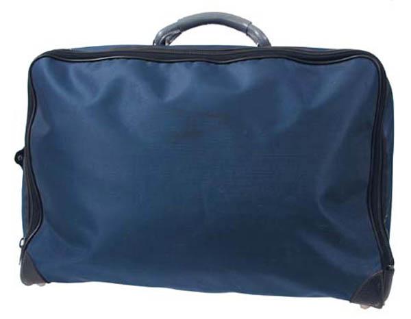 Sporttasche, blau, gebr., rep.