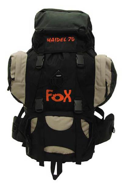 Rucksack -FOX Haidel 70-, schwarz-sand