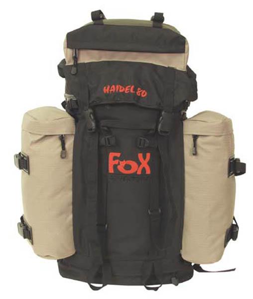 Rucksack -FOX Haidel 80-, schwarz-sand