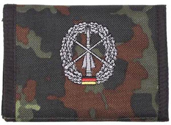Nylongeldbörse, punkttarn Heeresflugabw.