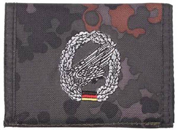Nylongeldbörse punkttarn Fallschirmjäger