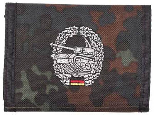 Nylongeldbörse, punkttarn, Panzer