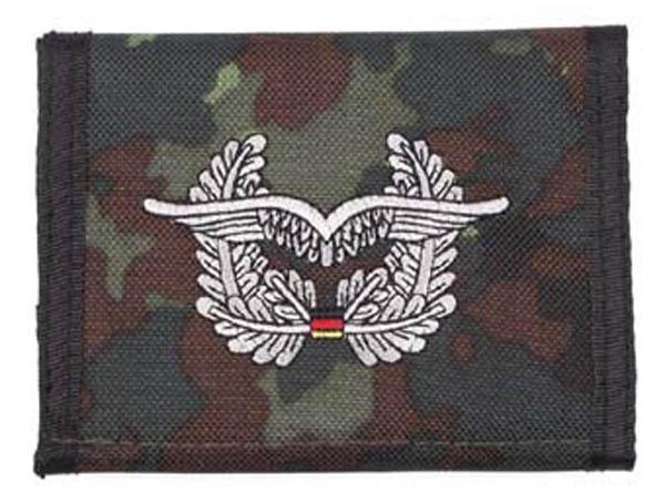 Nylongeldbörse, punkttarn, Luftwaffe