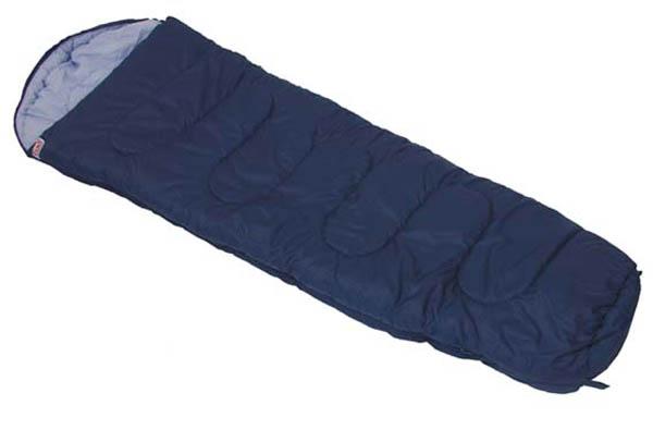 Mumienschlafsack, blau