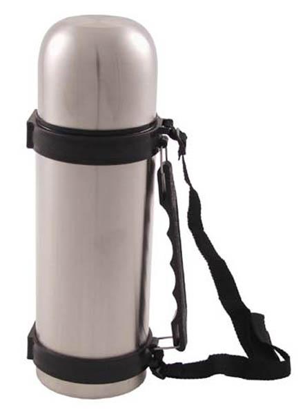 Vakuum-Thermoskanne 1 l, mit Tragegriff