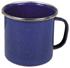 Email-Tasse, blau, 8 cm Durchmesser
