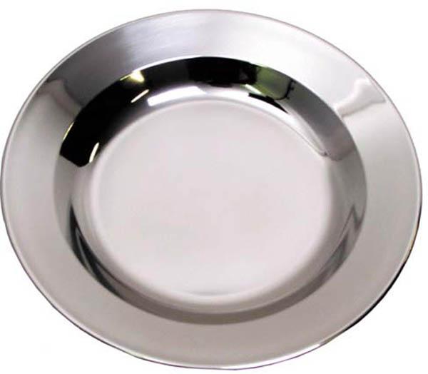 Suppenteller, Edelstahl, 22 cm