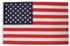 Fahne, USA, Polyester,m.Verst.-Band und