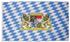 Fahne, Bayern mit Wappen, Polyester, mit