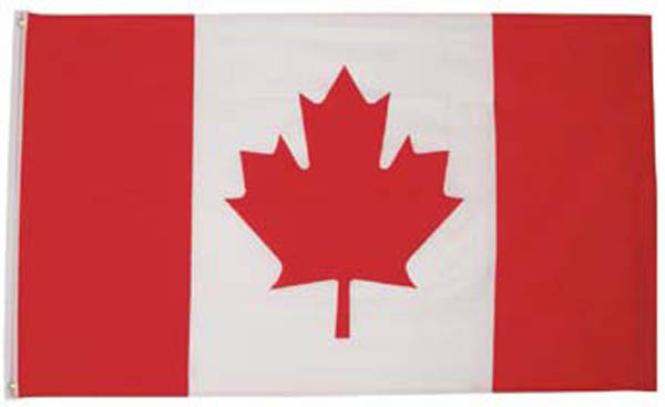 Fahne, Kanada, Polyester, mit