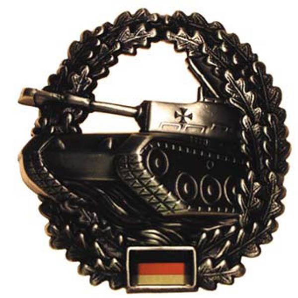 BW Barettabzeichen, -Panzer-, Metall,gebraucht