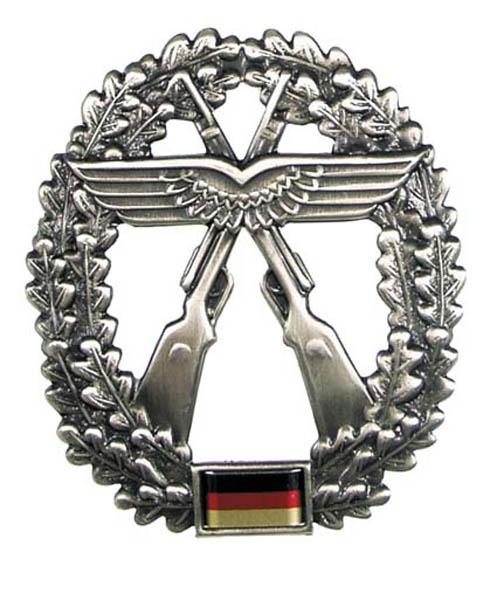 BW Barettabzeichen, -Luftwaffensich.-