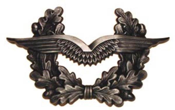 BW Schirmmützenabzeichen, Luftwaffe