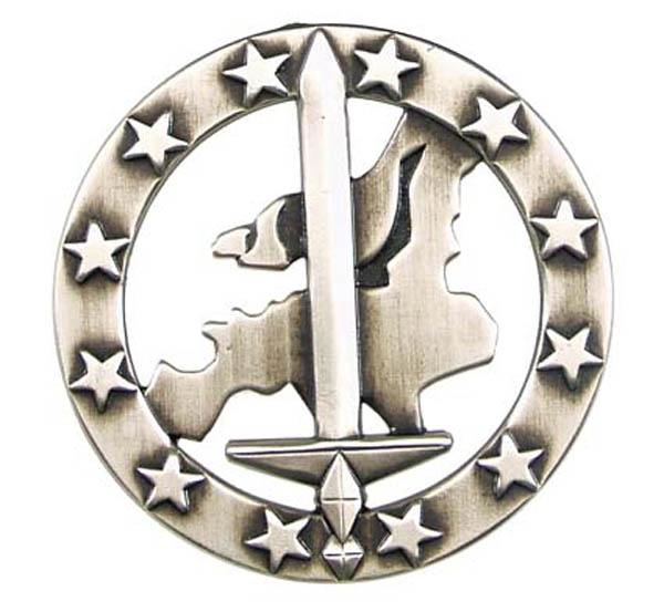 BW Barettabzeichen, -Eurocorps-