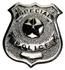 US Polizeiabzeichen