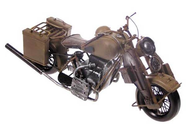 Motorrad-Dekomodell, Metall