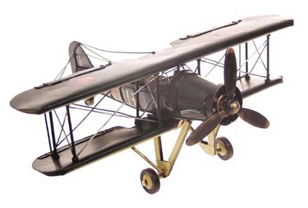 Flugzeug-Dekomodell, Metall