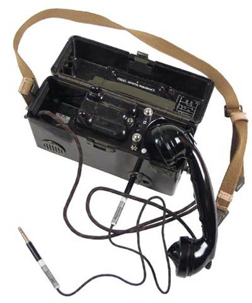 CZ Feldtelefon, neuwertig