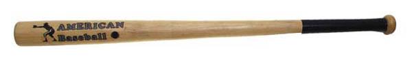 Baseballschläger, Holz 32-, natur