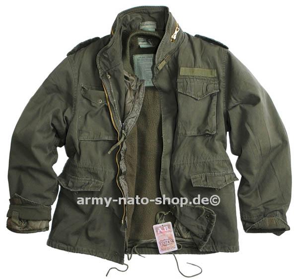 Feldjacke - Vintage (2 in 1) US M65 oliv