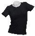 T-Shirt (Damen),Stretch schwarz neu