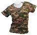 T-Shirt (Damen),Stretch woodland neu