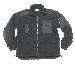 Fleece-Jacke,mit Reißverschluss schwarz neu