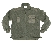 Fleece-Jacke,mit Reißverschluss oliv neu