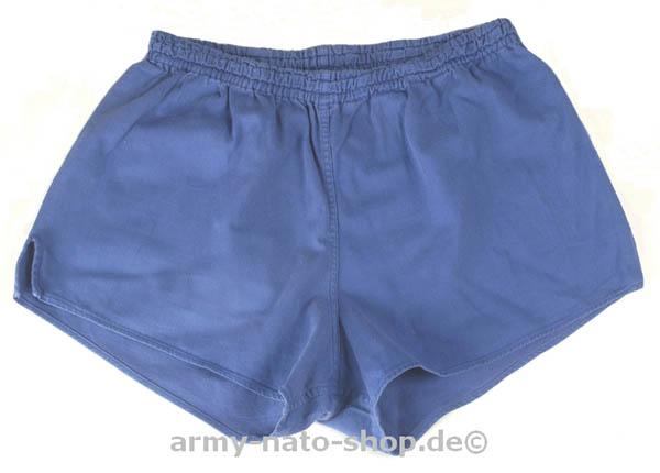 Sporthose,Bw blau gebraucht/rep.,