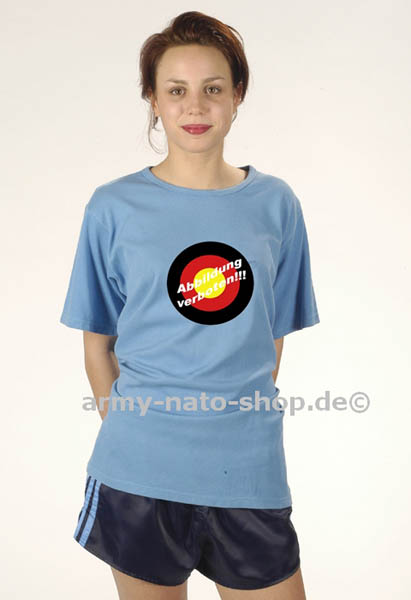 Sporthemd,Bw blau gebraucht/rep