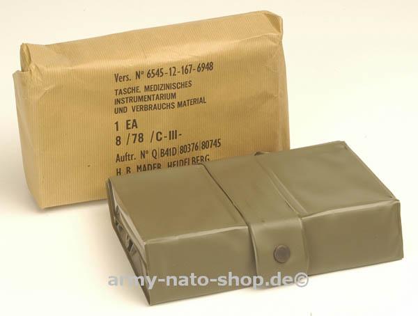 Tasche,medizinisches Instrumentarium oliv neu