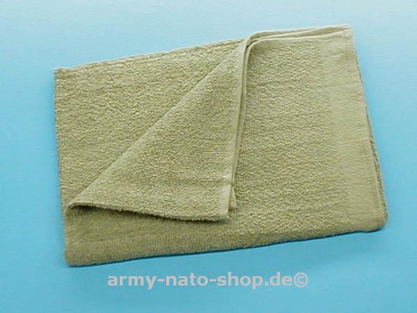 Handtuch, Bw oliv neu
