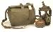 ABC-Schutzausrüstung, Bw M65 gebraucht ohne tasche, nur für Dekorationszwecke