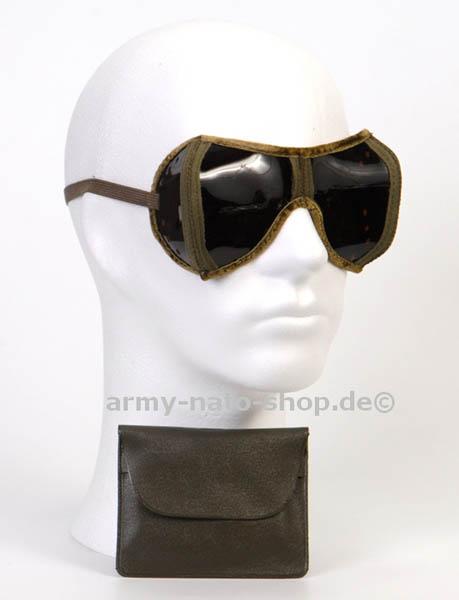 Sonnenschutzbrille,Bw faltbar oliv gebraucht,