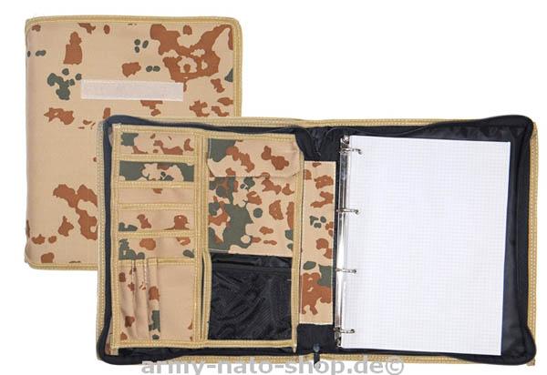Kartenmappe (DIN A 4),Bw 3-Farben tropentarn neu