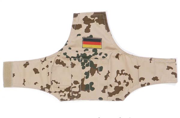 Armbüro mit Klettverschluss,Bw 3-Farben tropentarn neu (BRD Hoheitsabzeichen)
