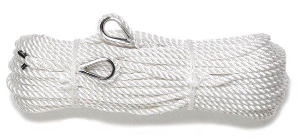 Seil,Polyamid weiß 8 mm/40 m neu