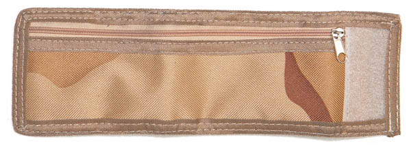 Armbandbörse mit Klettverschluss,Nylon 3-Farben desert neu
