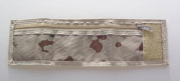 Armbandbörse mit Klettverschluss,Nylon 3-Farben tropentarn neu