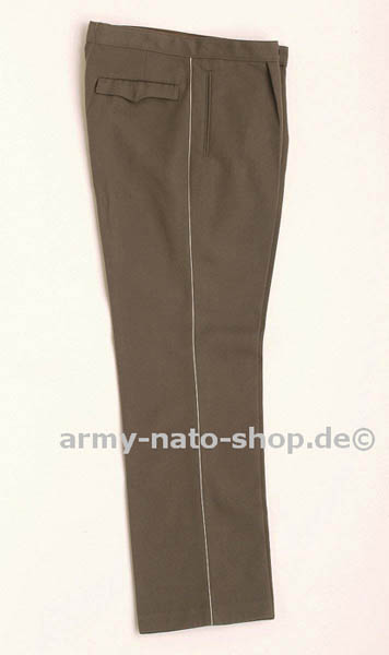 Uniformhose (Gabardine), NVA grau gebraucht