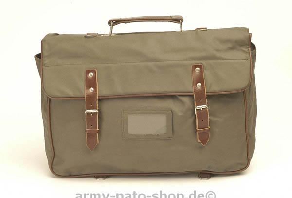 Marschgepäcktasche (Faltkoffer), NVA grau,gebraucht